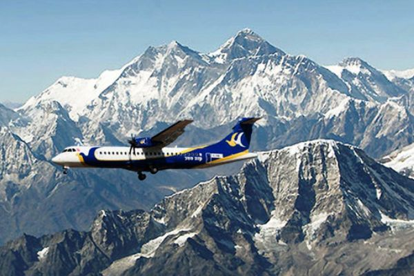 Everest Mountain flights by Plane